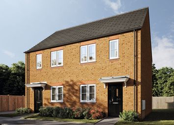 "Thumbnail 2 bed end terrace house for sale in ""The Harcourt"" at Pioneer Way, Bicester"