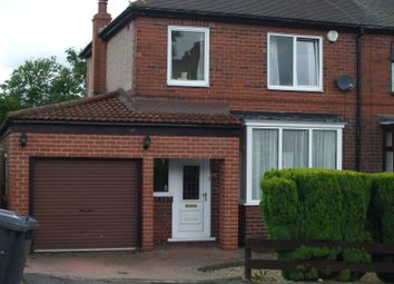 Thumbnail 3 bed semi-detached house to rent in Oakwood Drive, Rotherham