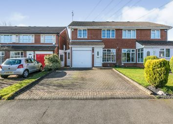 3 bed semi-detached house for sale in Lowfield Close, Halesowen B62