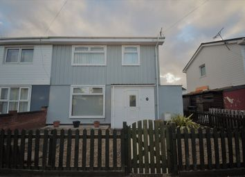 Thumbnail 3 bed semi-detached house for sale in Glazebrook Road, New Parks, Leicester