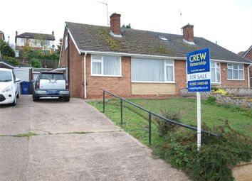 Thumbnail 3 bed semi-detached bungalow for sale in Charnwood Road, Burton-On-Trent, Staffordshire