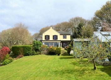 Thumbnail 4 bed detached house for sale in Trolver Croft, Feock, Nr Truro, Cornwall
