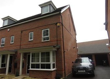 Thumbnail 4 bed town house to rent in Parkers Way, Tipton