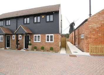 Thumbnail 3 bed semi-detached house for sale in Mill Court Close, Mill Lane, Herne Bay