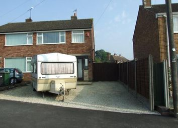 Thumbnail 3 bed semi-detached house for sale in Homefield Road, Sileby, Loughborough, Leicestershire