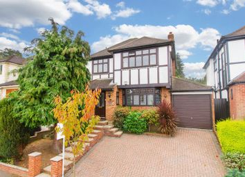 Thumbnail 3 bed detached house to rent in Dacre Gardens, Chigwell
