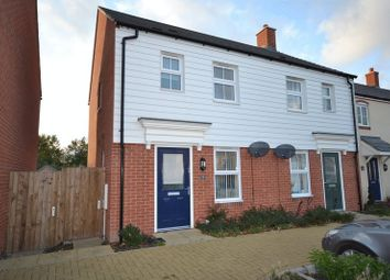 Thumbnail 2 bed semi-detached house to rent in Scotney Close, Kingsnorth, Ashford
