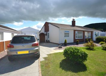 Thumbnail 2 bed semi-detached bungalow for sale in St Davids Road, Abergele