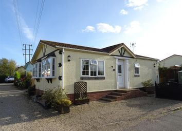 Thumbnail 2 bed mobile/park home for sale in Saxon Park, Barretts Lane, Needham Market, Ipswich
