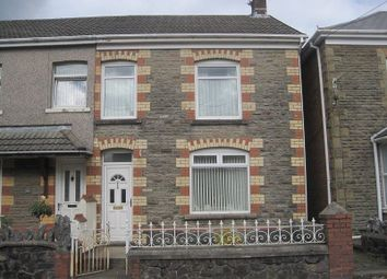 Thumbnail 3 bedroom semi-detached house for sale in Station Road, Ystradgynlais, Swansea.