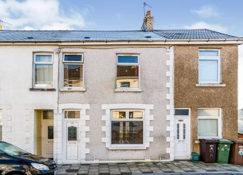 Thumbnail 3 bed terraced house for sale in Raglan Road, Hengoed
