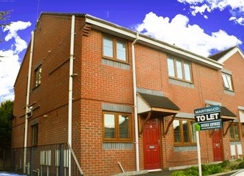 Thumbnail 2 bed town house to rent in Bramfield Avenue, Derby