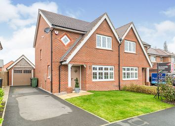 Thumbnail 3 bed semi-detached house for sale in Whitley Drive, Buckshaw Village, Chorley, Lancashire