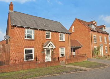 Thumbnail 4 bed detached house for sale in Old Gorse Way, Mawsley Village, Kettering, Northamptonshire