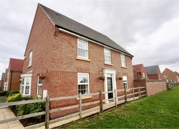 Thumbnail 4 bed detached house for sale in Justinian Way, North Hykeham