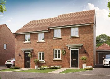 "Thumbnail 3 bed semi-detached house for sale in ""Tilford"" at Pyle Hill, Newbury"