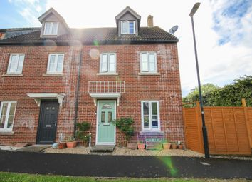 Thumbnail 3 bed end terrace house for sale in Bell Chase, Yeovil, Somerset