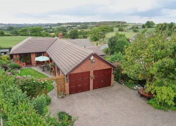 Thumbnail 2 bed detached bungalow for sale in Brown Edge, Staffordshire