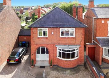 Thumbnail 3 bed detached house for sale in Albert Street, Fleckney, Leicester