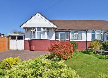 Thumbnail 2 bed semi-detached bungalow for sale in Firswood Avenue, Epsom, Surrey