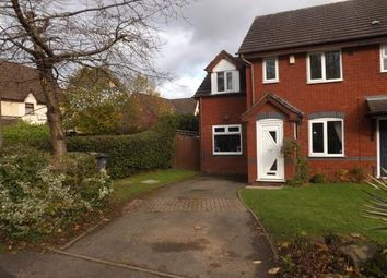 Thumbnail 3 bedroom end terrace house for sale in Kerswell Drive, Monkspath, Solihull, West Midlands