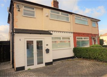 Thumbnail 3 bed semi-detached house for sale in Three Butt Lane, Liverpool