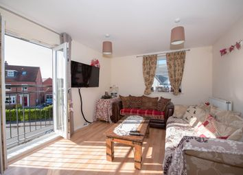 Thumbnail 2 bed flat for sale in Greenfinch Crescent, Witham St. Hughs, Lincoln