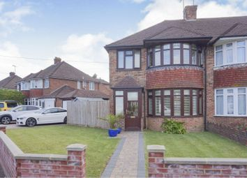 Thumbnail 3 bed semi-detached house for sale in Stockbridge Gardens, Chichester