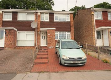 Thumbnail 3 bed end terrace house for sale in Clovelly Way, Orpington