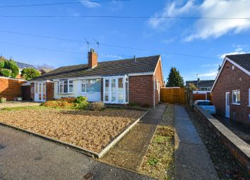 Thumbnail 2 bed bungalow to rent in Dart Close, Oadby, Leicester
