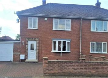 Thumbnail 3 bedroom semi-detached house for sale in Lakeen Road, Doncaster