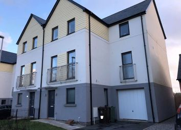 Thumbnail 4 bed town house to rent in Kilmar Street, Plymstock, Plymouth