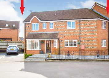 Thumbnail 4 bed link-detached house for sale in Pine Walk, Amesbury, Salisbury