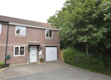 Thumbnail 3 bed semi-detached house for sale in Berkeleys Mead, Bradley Stoke, Bristol
