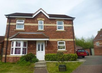 Thumbnail 4 bed detached house for sale in Paddock Close, Market Rasen
