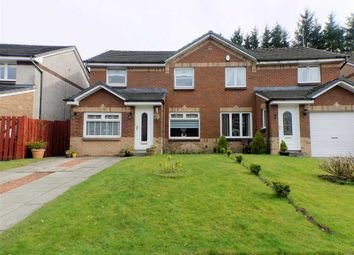 Thumbnail 4 bed semi-detached house for sale in Reay Avenue, Spring Bank Gardens, East Kilbride