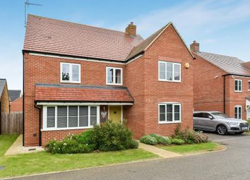 Thumbnail 5 bed detached house for sale in Dunnock Road, Bodicote