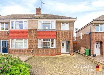 Littlebrook Gardens, Cheshunt, Hertfordshire EN8. 3 bed semi-detached house for sale