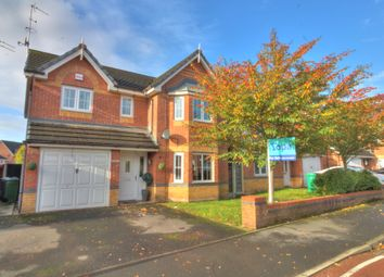 Thumbnail 4 bed detached house for sale in Ainsbrook Avenue, Blackley, Manchester