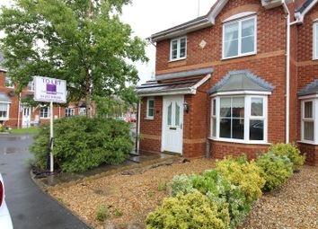 Thumbnail 3 bed semi-detached house to rent in Chequers Way, Thornton