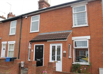 Thumbnail 2 bedroom terraced house to rent in Leopold Road, Ipswich