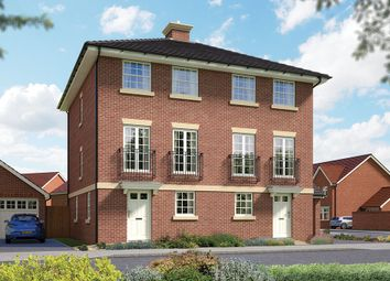 "Thumbnail 3 bed semi-detached house for sale in ""The Winchcombe"" at Matthewsgreen Road, Wokingham"