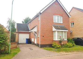 Thumbnail 3 bed detached house to rent in Copplestone Close, Worlingham, Beccles