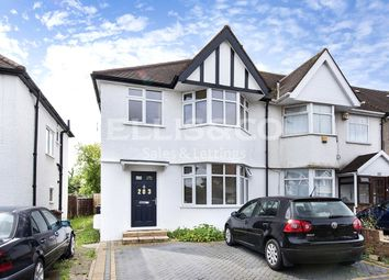 Thumbnail 3 bed end terrace house for sale in Camrose Avenue, Edgware, Middlesex