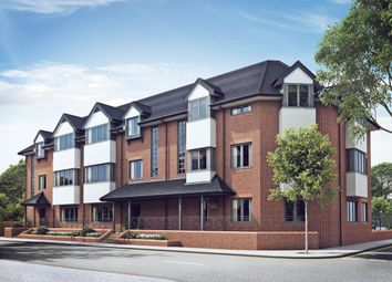Thumbnail 2 bed flat for sale in Lavender Park Road, West Byfleet
