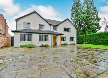 Thumbnail 4 bed detached house for sale in Manchester Road, Wilmslow