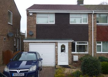 Thumbnail 3 bed semi-detached house to rent in Warwick Drive, Newbury