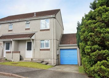 Thumbnail 2 bed semi-detached house for sale in Martins Close, Liskeard, Cornwall