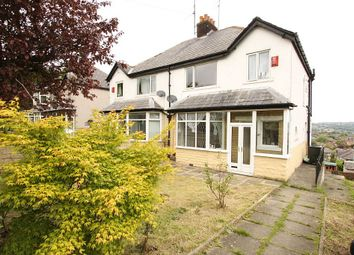 Thumbnail 3 bed semi-detached house for sale in Aireville Avenue, Bradford, West Yorkshire