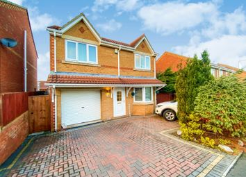Thumbnail 4 bed detached house for sale in Ashwood Meadows, Horden, Peterlee